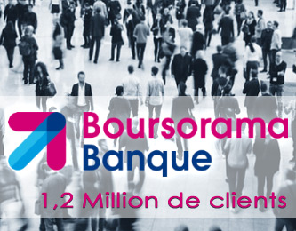 Boursorama Banque, 1,2 million de clients