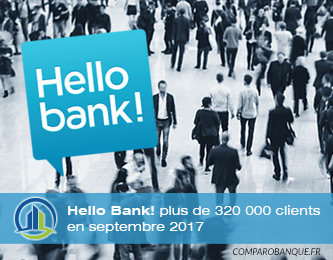 Hello Bank! plus de 320 000 clients en 2017